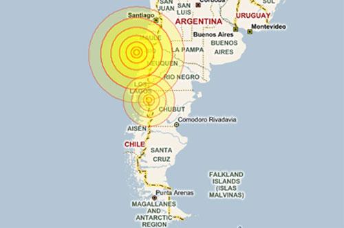Động đất ở Chile