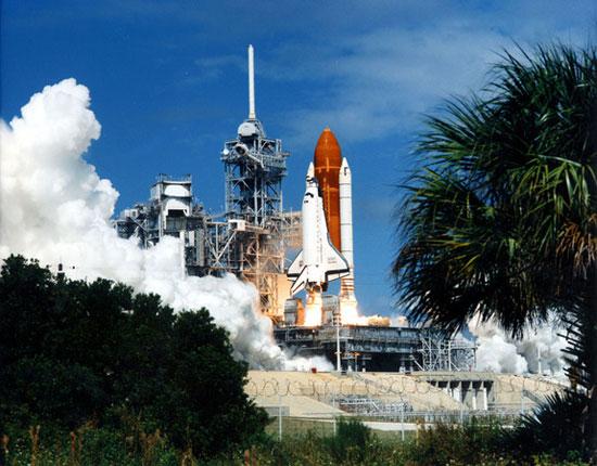Chuyến bay thực thi nhiệm vụ STS-26 trên con tàu Discovery vào ngày 29/9/1988