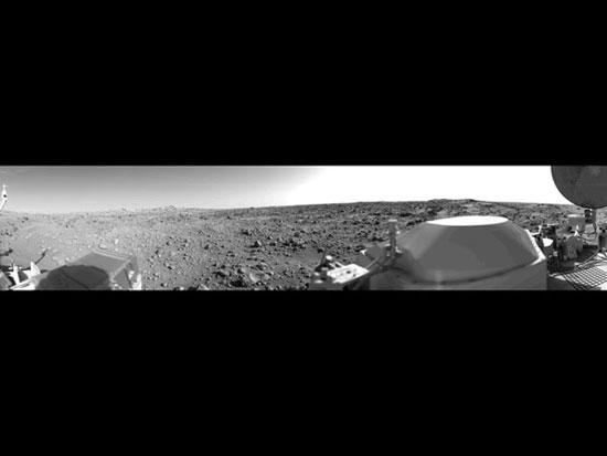 Bức ảnh toàn bề mặt sao Hỏa đầu tiên