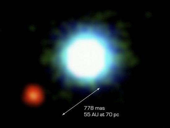 Bức ảnh hành tinh ngoài hệ Mặt trời đầu tiên