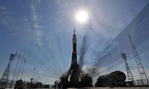Video: Tàu vũ trụ Nga phóng lên không gian