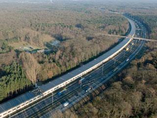 Đường hầm năng lượng Mặt trời tại Bỉ