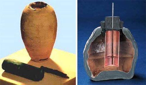 BaghdadBattery được cho là một thiết bị điện tử của người cổ đại