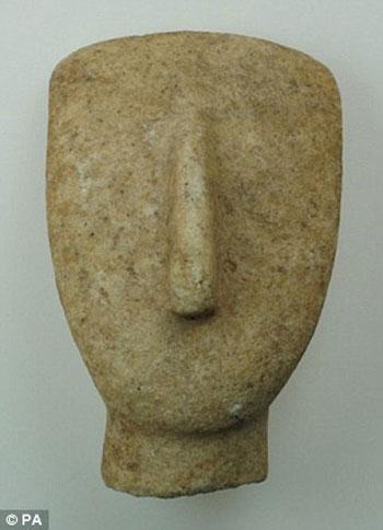 Những mảnh vỡ này được khai quật trên đảo Aegean của Keros