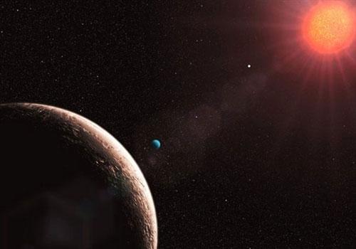 """Gliese 581 e từng được cho là hành tinh nhỏ nhất của vũ trụ và giờ đây nó được cho là hành tinh """"kỳ cựu"""" của vũ trụ"""