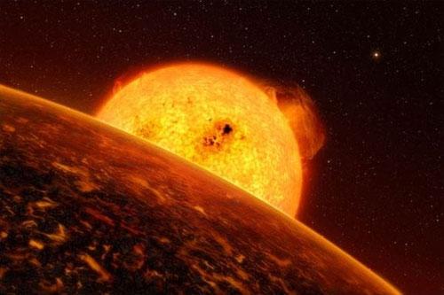 Hành tinh duy nhất có mưa đá CoRoT- 7b