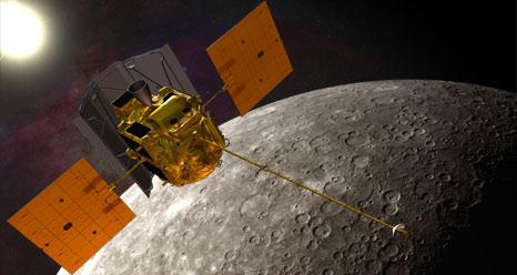 Tàu Messenger tiếp cận bề mặt sao Thủy