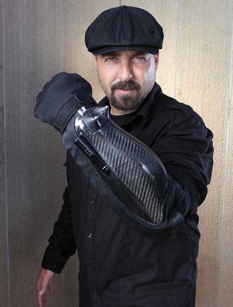 Găng tay bọc thép chuyên dụng cho cảnh sát