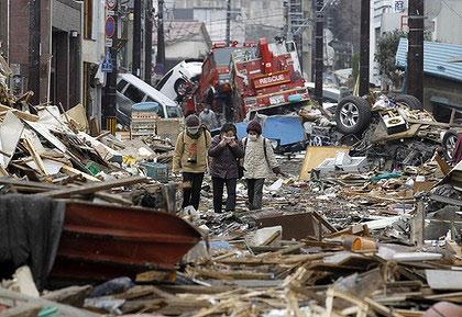 Động đất mạnh kèm cảnh báo sóng thần tấn công Nhật Bản