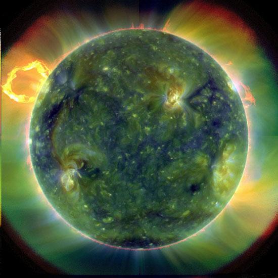 Điều kỳ diệu của những vụ nổ Mặt trời