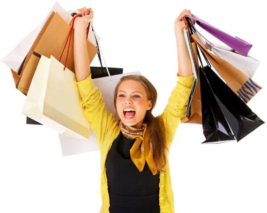 Nhiều người mắc chứng nghiện mua sắm.