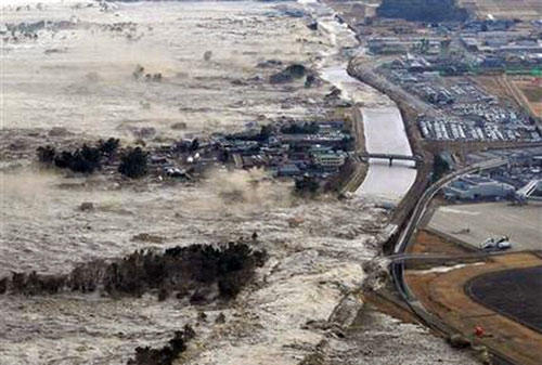 Trận động đất ngày 11/03 đã tàn phá bờ biển đông bắc Nhật Bản