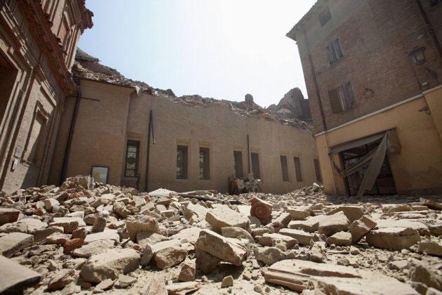Italy lại rung chuyển vì động đất