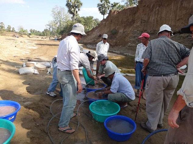 Khu khảo cổ tại Myanmar