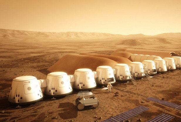Mars One dự định sẽ xây khu định cư trên Sao Hỏa