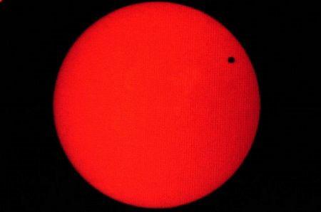 """""""Cuộc gặp gỡ"""" thú vị giữa sao Kim và mặt trời"""