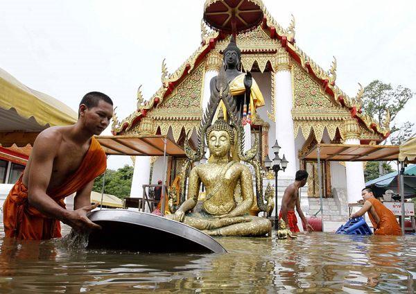 Lũ lụt hoành hành tại các tỉnh miền Nam Thái Lan