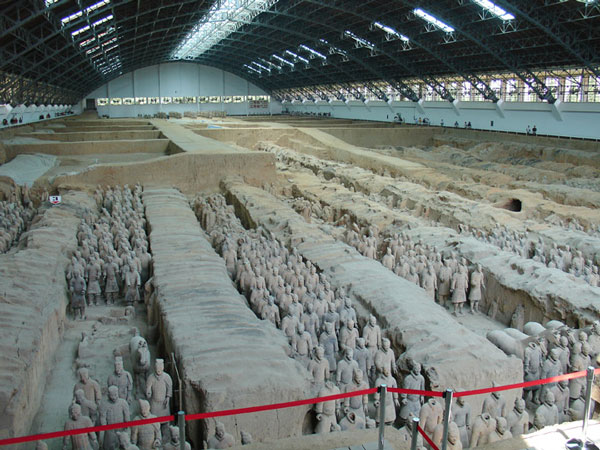 Tìm ra thủ phạm đốt lăng mộ Tần Thủy Hoàng