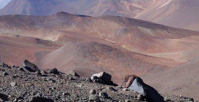 Núi lửa Atamaca là nơi cực kỳ giống với môi trường trên sao Hỏa.