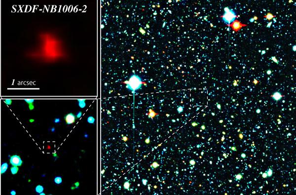 Hình ảnh chụp qua kính thiên văn Subaru