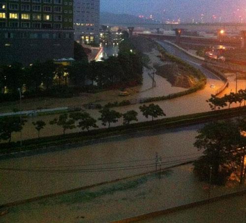 Đài Loan đối mặt với đợt lũ lụt nghiêm trọng nhất