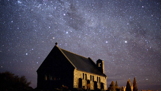 Thiên đường thiên văn trên South Island