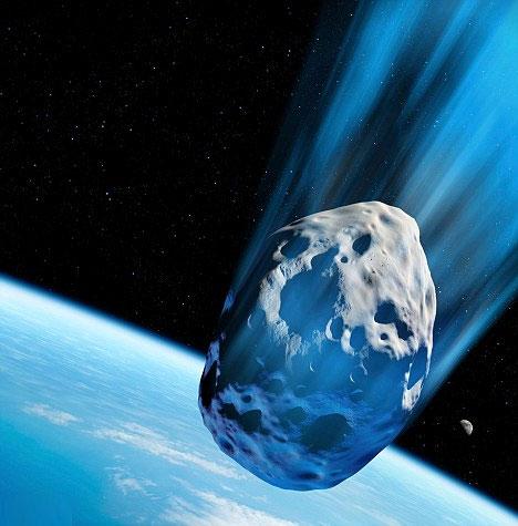Sáng mai, thiên thạch khổng lồ sẽ bay qua Trái đất