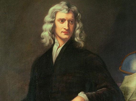 Newton lập công cho kinh tế Anh