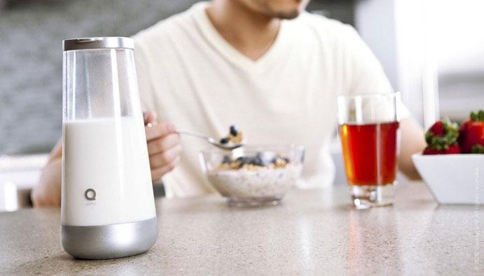Công nghệ báo thời điểm sữa bị hỏng