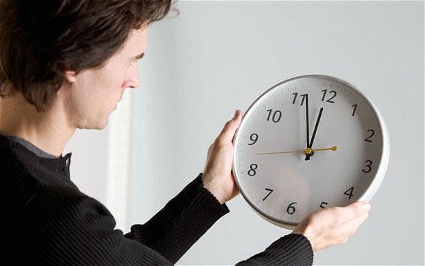 Thời gian có thể ngừng trôi