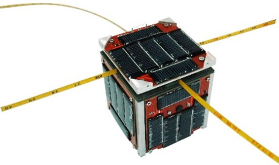 Video: Mô phỏng vệ tinh F-1 trong không gian