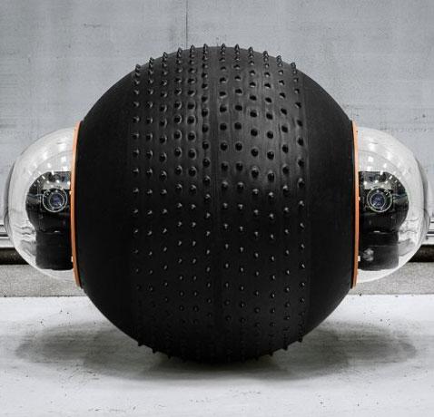 GroundBot - Robot do thám linh hoạt với khả năng quan sát 360 độ