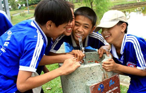 AusAID tài trợ cấp nước sạch cho dân nghèo ĐBSCL