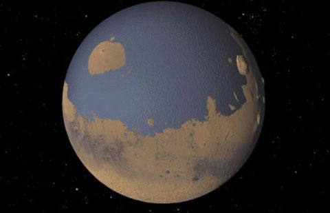 Sao Hỏa từng có đại dương bao la. Hầu hết các chuyến viễn thám Hỏa tinh đều cho 1 kết quả trùng lặp - trên sao Hỏa có nhiều dấu hiệu cho thấy ở đó từng có đại dương, hệ thống sông ngòi, kênh rạch phong phú, phức tạp. Các nghiên cứu cho rằng sao Hỏa trước đây có nhiệt độ ấm áp hơn và có nước, là điều kiện để có sự sống.