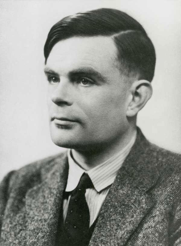 Alan Turing - cha đẻ của ngành khoa học máy tính.