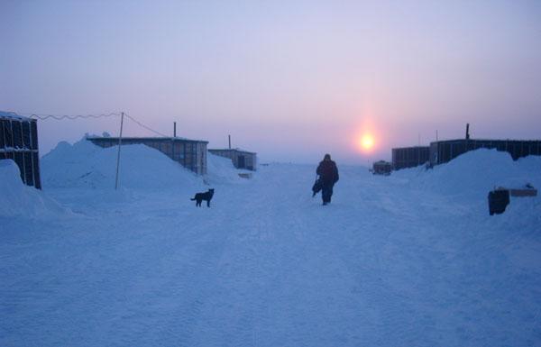 Bắc Cực từng ấm áp