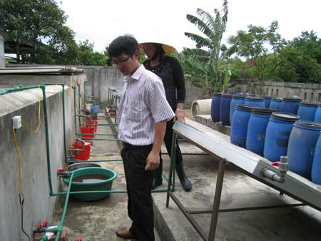 Sản xuất nước mắm bằng năng lượng mặt trời