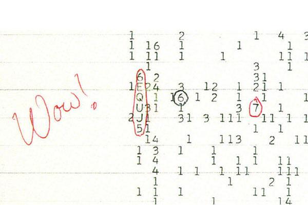 Đoán tín hiệu Wow! được phát hiện từ năm 1977.