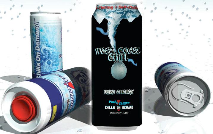 Lon ChillCan tự làm lạnh bia và đồ uống trong vòng 2 phút