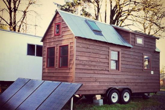 Tiny Tack House - mô hình nhà ở tiết kiệm năng lượng