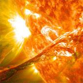Kỹ thuật mới theo dõi bão mặt trời