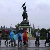 Mưa lớn gây thiệt hại nặng tại khu vực Trung Âu