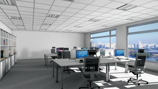Ánh sáng có lợi cho sức khỏe của dân văn phòng