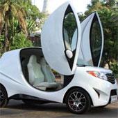 Campuchia tự sản xuất ôtô điện, giá dưới 200 triệu