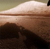 Tàu Curiosity sẽ thám hiểm núi Sharp trên Sao Hỏa