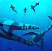 Phát hiện xương hóa thạch khổng lồ của quái vật biển