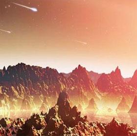 """Thiên thạch mang """"khởi nguồn sự sống"""" đến Trái đất"""