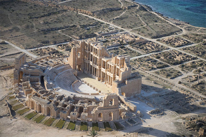 Ảnh đẹp: Bên bờ biển Lybia