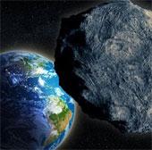 Thiên thạch vừa bay sát trái đất