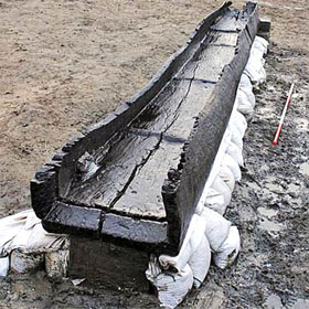 Tìm thấy thuyền cổ 3500 năm ở Anh